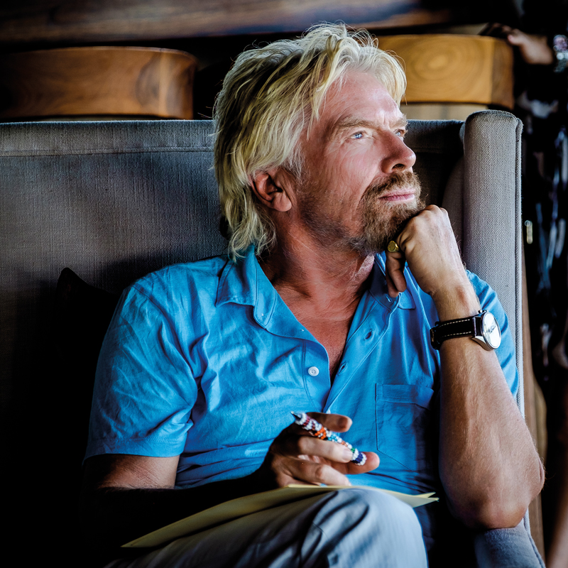 Sir Richard Branson is one family business entrepreneur wise enough to get ahead of technological disruption – Ph. © Virgin Group